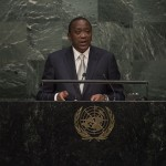 Uhuru Kenyatta, président de la République du Kenya à la 70e assemblée générale de l'ONU. (photo flickr/ United Nations Photo)