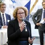 Karin Wanngard, maire de la capitale Stockholm, gagne 13 300 euros par mois. (photo flickr/newsoresund)