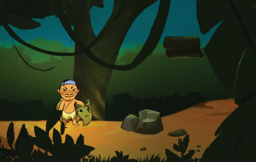 Capture écran du jeu. (photo Huni Kuin/Nadja Woczikosky Marin)