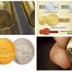 Le dinar islamique, monnaie lancée en novembre 2014 par l'OEI, pourrait bien être en train de vivre ses derniers jours.  (Capture d'écran Twitter)