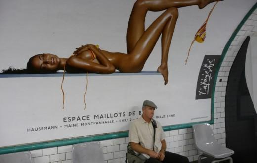 Une publicité dans le métro parisien en 2009.(Photo Flickr/Talus)