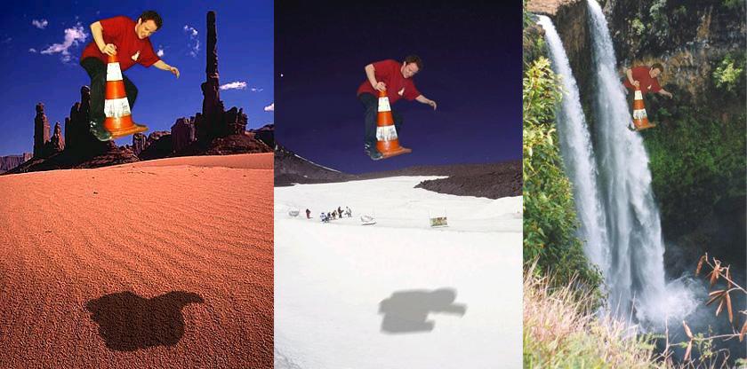 Des photos rares obtenues auprès de l'International Acrobatic Cone Federation (IACF). L'Acrobatic Cone est un sport reconnu mondialement qui a été créé par l'équipe VideoLan.