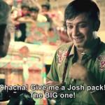 Les publicités de la marque JOSH sont désormais interdites de diffusions à l'antenne des télévisions du pays. Capture d'écran Youtube/DKT International)