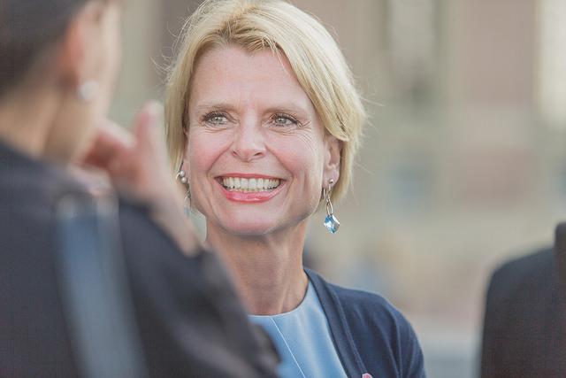 Åsa Regnér, ministre suédoise de l'Enfance, des Personnes âgées et de l'Égalité. (Photo Flickr/Socialdemokraterna)