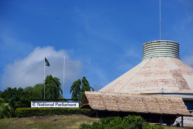 Le Parlement des Îles Salomon. (Photo Flickr/Department of Foreign Affairs and Trade)