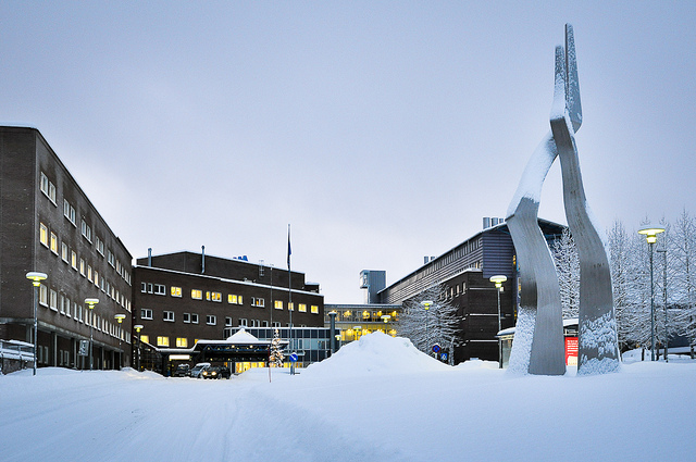 L'hôpital universitaire de Tromsø. (Photo Flickr/Universitetssykehuset Nord-Norge (UNN))