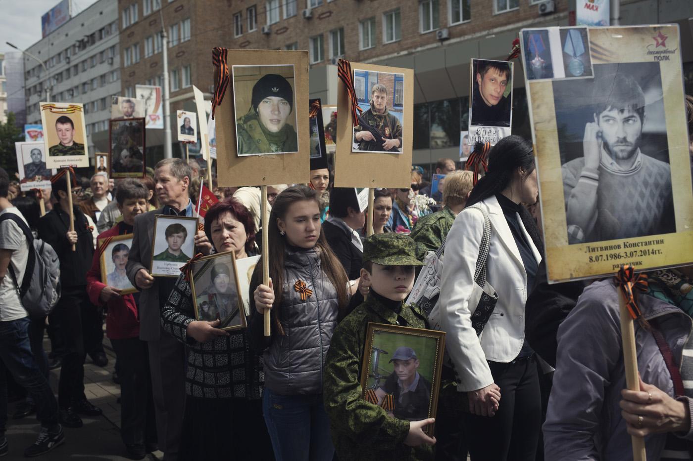Donetsk veuves