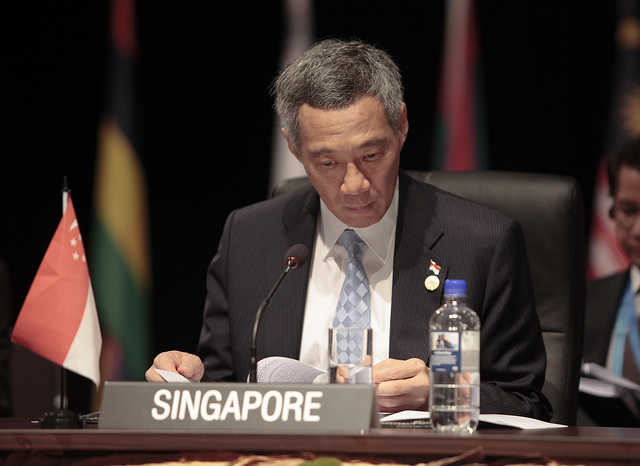 Le premier ministre singapourien, Lee Hsien Loong, en 2011. (Photo Flickr/ Commonwealth Secretariat)