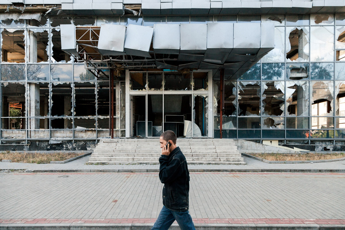 Donetsk, septembre 2016. (photo Joao Bolan/8e étage)