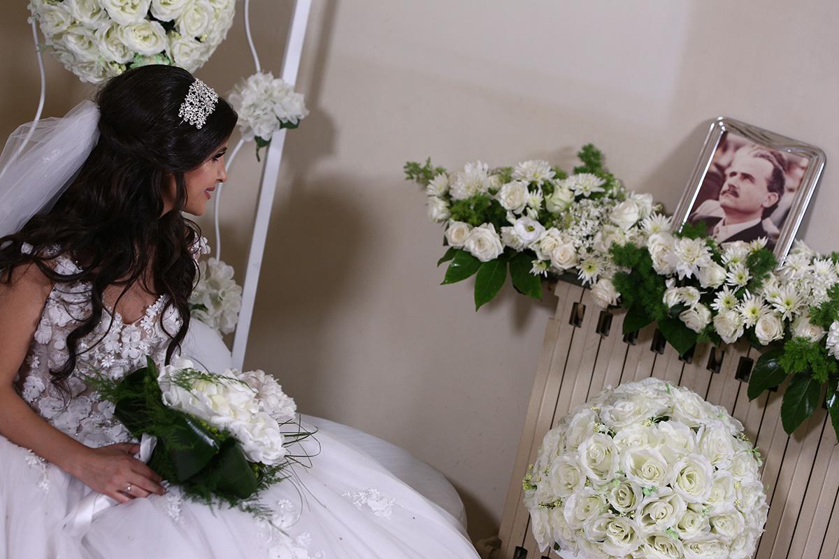 Rana Khawand, le jour de son mariage. (Photo famille Khawand)