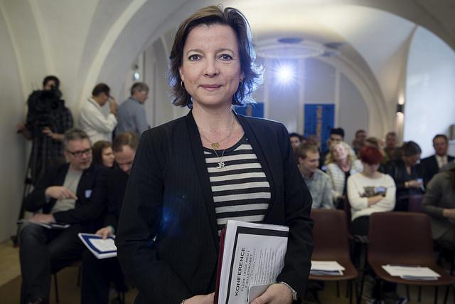 La libérale Karen Ellemann, ex-ministre de l'Intérieur et des Affaires sociales du Danemark, avait déposé le projet d'amendement législatif voté jeudi dernier. (Photo Flickr/Venstre)