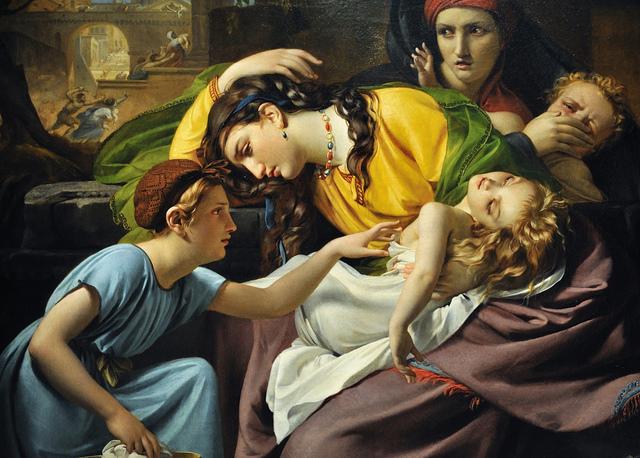 Le massacre des Innocents, de François-Joseph Navez. (Photo Flickr/jerry dohnal)