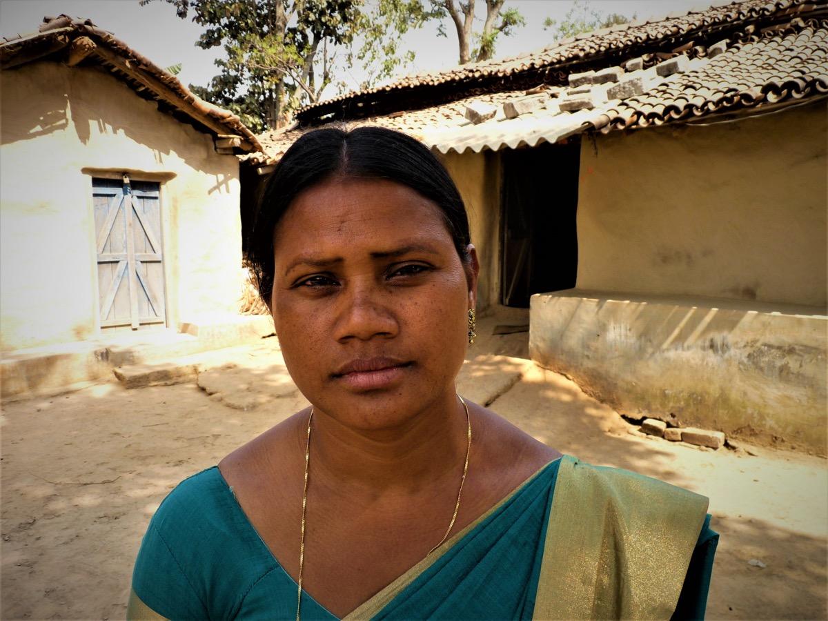 Enfant, Punam Toppo a voulu protéger sa grand-mère, harcelée en tant que sorcière par les autres villageois. (photo Jack Fereday/8e étage)