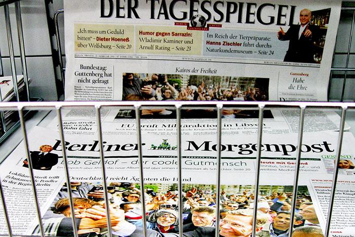 23.Februar 2011 - Schlagzeilen zu ƒgypten und Libyen