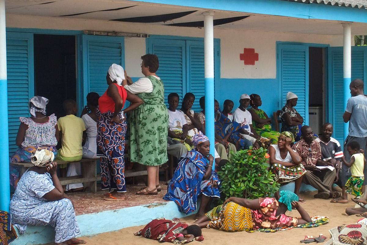 Le centre de santé. (photo Emre Sari & Charles Bouessel/8e étage)