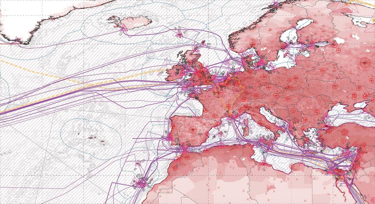 Zoom sur l'Europe. Cliquer pour agrandir (Crédit: )