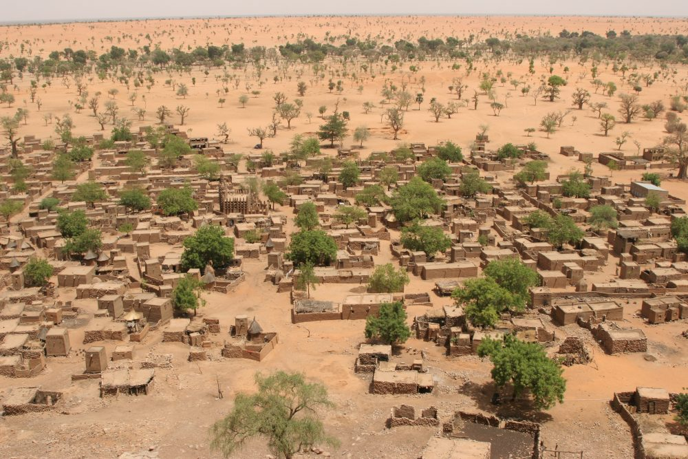 Vue du village de Telly, au Mali. (photo DR)