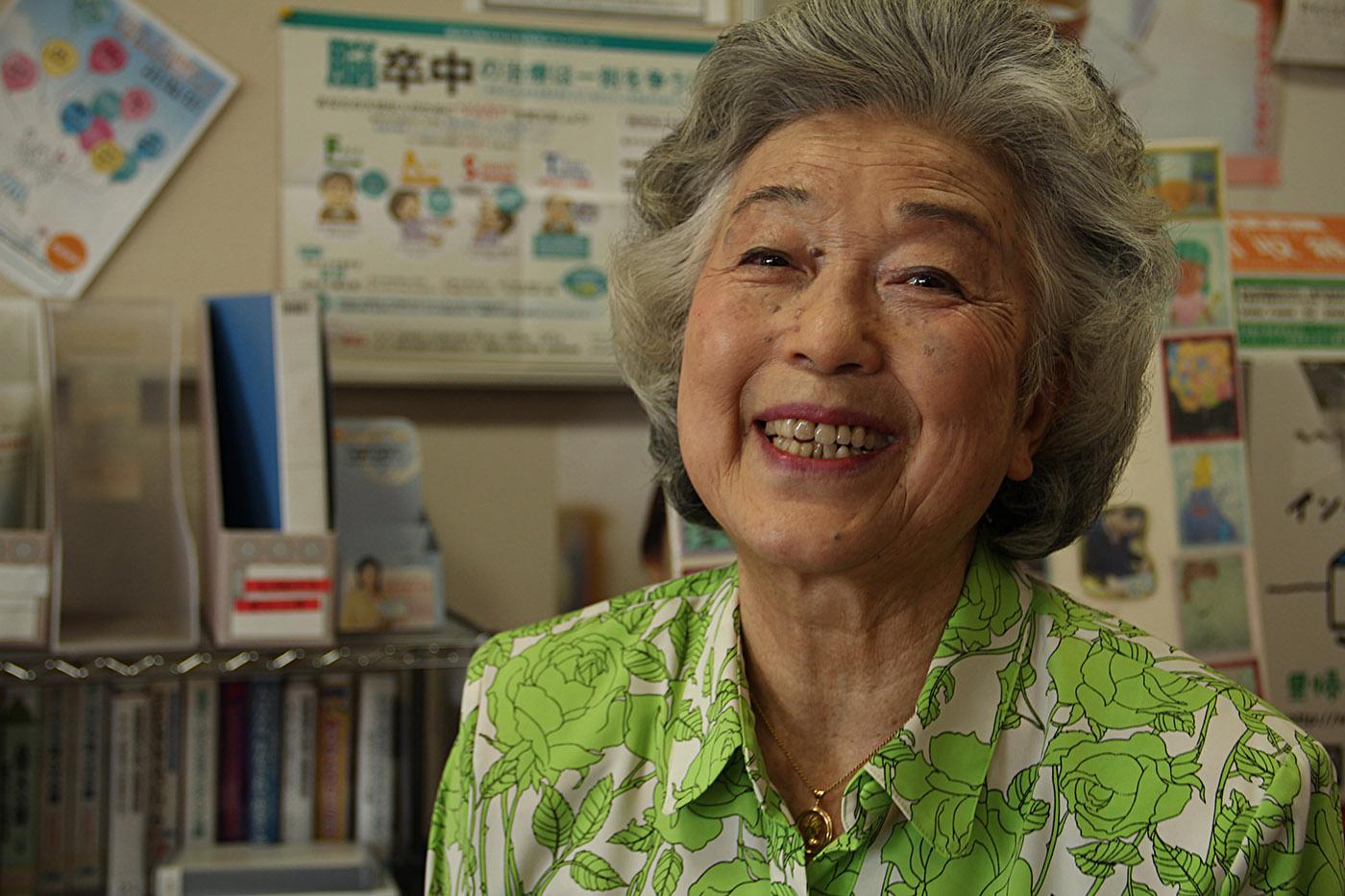 "Takiko Funaya a lancé les ""Japanese lessons"" il y a 20 ans.  (photo Lisa Castelly/8e étage)"