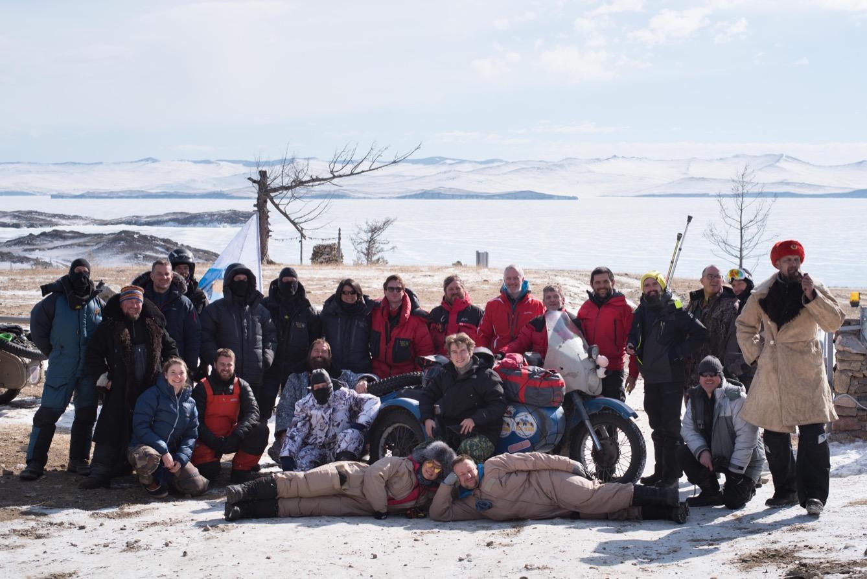 Tous les ans, la Ice Run réunit sur le lac Baïkal, en Sibérie, les casse-cou les plus téméraires du monde. (photo Marie-Alix Détrie/8e étage)