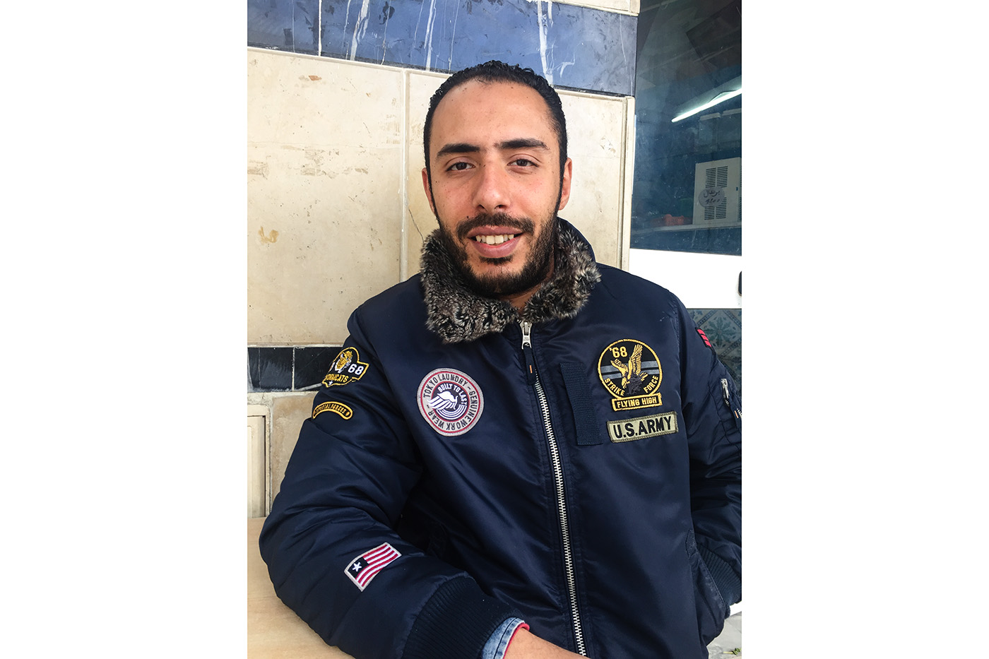 Aymen, 33 ans. (photo Capucine Japhet/8e étage)