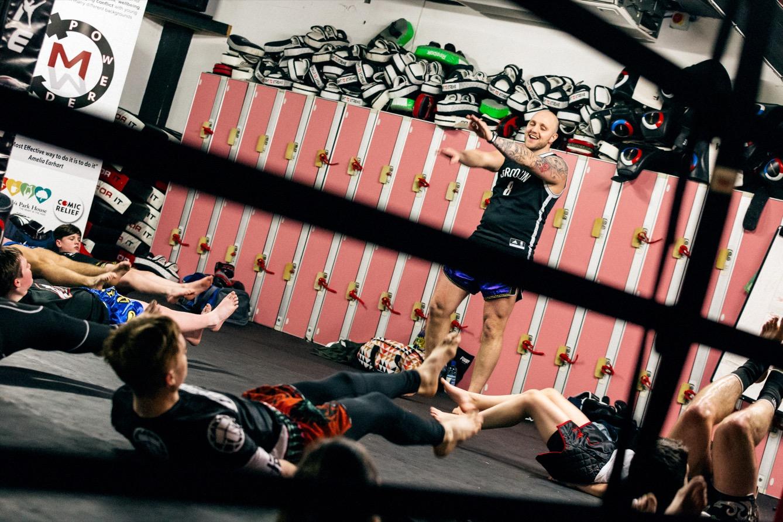 Pinta est quadruple champion du monde de kickboxing. (photo Yann Levy/8e étage)